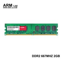 Wholesale Ddr2 Desktop 667mhz 2gb - Desktop PC ARM Ltd DDR2 2Gb 667Mhz Memory PC2-5300 SDRAM 240-Pin DIMM Computer Components super-speed RAMs Gifts
