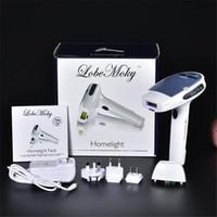 ipl für den häuslichen gebrauch großhandel-TAMAX HR001 MOQ 1 Laser-Haarentfernungsgerät für den Heimgebrauch wird mit zwei IPL-Elpilatoren für die dauerhafte Haarentfernung der Haut geliefert