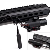 Wholesale 19 Led Flashlight - Tactical Green Laser Sight Scope CREE Q5 LED Flashlight Combo Picatinny Mount Glock 17 19 22 20 23 31