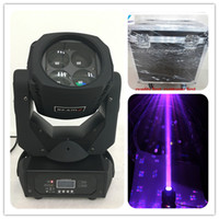moving head bühnenbeleuchtung waschen groihandel-Flightcase 4 * 25W LED Mini Moving Head Wash Super Beam Moving Head 25W LED Bühnenlicht
