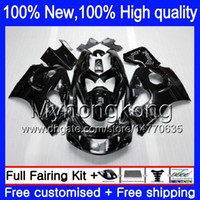 Wholesale 98 Gsxr Fairings - 8Gift 23Colors Bodywork For SUZUKI GSXR600 1996 1997 1998 1999 2000 GSX R600 5LQ38 GSXR750 SRAD GSXR 750 600 96 97 98 99 00 Fairing kit Blac