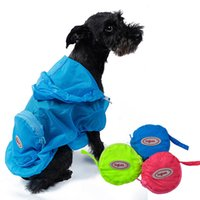 Pet Supplies Dog Nylon impermeabile Soft Comfort Dogs Vestiti Waterfproof Panno Sun Protezione UV Blue Green Pink Colore 6 Taglie - XS