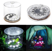 original lantern - Solar lantern inflatable Solar Powerd Original Portable Waterproof Light Event Party Supplies for outdoor camping lamp