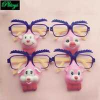 Wholesale Toy Seller Cartoon - Wholesale-Beard Stare Large Glasses Big Nose Glasses Blow Out Dragon Cartoon Tricky Best Sellers PA0075