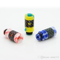 Wholesale Ego T Cartomizers - 510 EGO Acrylic Candy Drip Tips for CE Atomizers Vivi Nova Cartomizers for EGO T Battteries Electronic Cigarette Mouthpiece