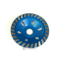 """diamond grind NZ - 4"""" Cup Type Diamond Grinding Disc for Concrete Marble Granite Surface Treatment"""