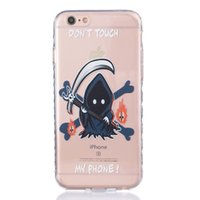 bleach iphone - Phone Cover TPU Clear Bleach Drawing Soft Mobile Phone Case For iPhone S s Plus