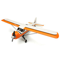 Wholesale Bnf Rc Airplanes - Wholesale- XK DHC-2 DHC2 A600 5CH 3D6G Brushless RC Airplane Compatible Futaba BNF
