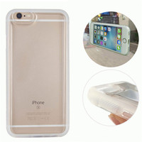 Wholesale Unique Cell Phone Covers - Unique Transparent TPU cell phone case Anti Gravity back cover for iphone6 6s Selfile Stick Nano shell