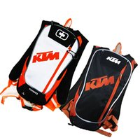 Wholesale motocross tools for sale - New KTM Motorcycle Bag Motocross Offroad Racing Backpack with TPU Water Bag Bike Bicycle Sport Luguage Pack
