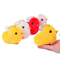 Wholesale mascot accessories halloween online - plush toys cute little chicks in male chicks chicken mascot dolls with chuck s accessories
