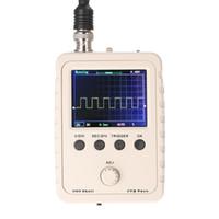 kit case diy venda por atacado-Osciloscópio Digital DIY Kit Peças com Caso SMD Soldado Conjunto de Aprendizagem Eletrônica 1MSa / s 0-200 KHz 2.4