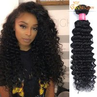 Whosale 4Pcs Per Lot Mixed Lengths Brésiliens Cheveux Cheveux Cheveux Cheveux Ronds Cheveux Cheveux Ronds 100% Vierge Cheveux Humains Extensions 100g / pc