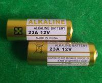 Wholesale 12v A23 Battery - One lot=500pcs 6V 4LR44 and 200pcs 12V 23A A23 MS21 MN21,V23GA, LR23 L1028 Alkaline battery for wireless door bell remote control