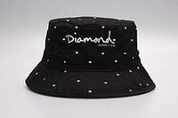Wholesale Silver Wide Brim Hat - 2017 Fashion Diamond Bucket hat bobs gorras bones High Quality Hiphop Floral Brand fishing hats For Men Women pesca cayler sons bucket Cap