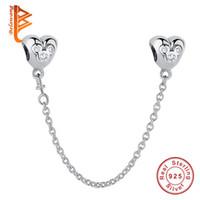 242cebd54277 pandora corazones cadena de seguridad al por mayor-BELAWANG para Las  Mujeres de Plata de
