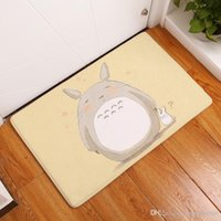 Wholesale Totoro Flannel - Totoro Mat Flannel Mattress Non Slip Anti Bacterial Rug Door Entrance Welcome Carpet Water Proof Floor Pad Home Decor 17 8qt F R