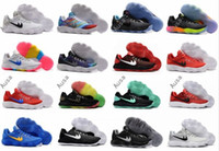 Wholesale Summer Tops Usa - Classic Basketball Shoes Hyperdunk 2017 Low EP for Top quality Paul George James KD Kobe USA BHM Woven Training Sports Sneakers US Size 7-12