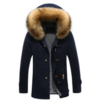 Wholesale Trench Coat Models Men - Wholesale- Free shipping 2015 autumn and winter long coat explosion models casual fashion trend of men in trench coat