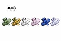 cúpulas de tampa de garrafa venda por atacado-Garrafa de vidro coloridos Carb Cap Dome para menos 34 milímetros de quartzo Banger prego dois milímetros 3 milímetros 4 mm de espessura Enail Domeless Nails Dab Rig 592