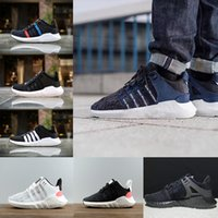 Wholesale Dark Green Coat Men - Newest Overkill x Consortium EQT 93 17 Boost Support Future Coat of Arms Pack Men women black white sports shoes Running Sneakers 36-44