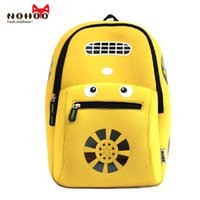 Children School Backpack Grande capacidade Cartoon Car Printing Kids School Bags NOHOO Factory Low Price Back packs Atacado