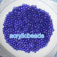 Wholesale 3mm Black Glass Beads - Factory Price 5000pcs 3mm Silver Core Transparent Tiny Glass Spacer Japanese Seed Beads for Sale Jewelry Finding Supplies