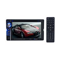 Wholesale Dvd Player Without Screen - 6.2'' Bluetooth Car Stereo Car DVD Two 2 DIN FM Radio SD USB MP3 Player HandsFree Without GPS