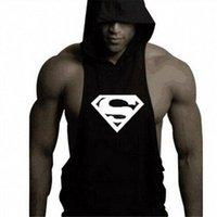 Wholesale Low Cut Vest Men - Wholesale- New Men's Vivid Tank Tops Low Cut Armholes Vest Sexy Casual Men Workout Tees Xman Muscle Man's Fitness Sportive Suit