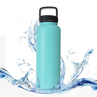 Wholesale Wholesale Colored Rope - Stainless Vacuum Cup Material Steel Brightly Colored Outdoors Motion Kettle Insulated Double Wall Vacuum Water Bottle Hot Sell 28 1xl J R