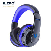 Wholesale Dj Over Ear - New Bluetooth Headphone MX666 Stereo Audio Over-ear Headsets Hifi Bass DJ Metal Rock Noise Cancelling Earphone Hands-free Calling For Phone
