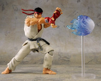 Nova figura de anime de venda quente SHFiguarts 01 # STREET FIGHTER THE KING OF FIGHTERS RYU 15CM presente para crianças