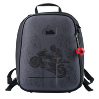 Wholesale Trunks For Motorcycles - High Quality New 2017 Russian Style Kids School Backpacks For Boys School Bags Waterproof Personality Motorcycle Backpack Child