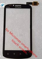 Wholesale Micromax Touch Phones - Wholesale- 100% Original For Micromax smarty phone Touch Screen Digitizer Replacement Ffree Shipping