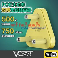 durch Dhl oder ems 5pcs VONETS VAR5G High Power 2.4G / 5G Dual Band Wireless-WIFI-Router / AP 2.4Ghz 300Mbps + 5Ghz 450Mbps