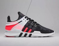 Wholesale New NMD EQT support ADV sport shoe Men Women Running Shoes Phareel red black gray color Sneakers Size
