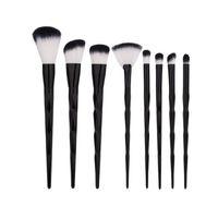Wholesale girls hair brushes - Beauty Girl 2017 8pcs Soft Blending Make Up Foundation Powder Blush Cosmetic Concealer Makeup Brushes Sets Dropshopping
