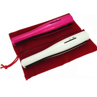 Wholesale Mini Hair Straightener Iron - NEW Portable USB Hair Straightener Rechargeable Cordless Hair Straightener Mini Cordless Straightener Travel Flat Iron Small Pocket