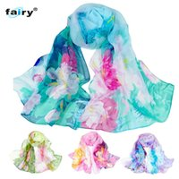 Wholesale Fairy Store - Wholesale- AG 31 Fairy Store 2016 Hot Selling Fashion Chinese style Lady Long Wrap Women's Shawl Chiffon Scarf Scarves