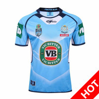 Wholesale Welsh holden nswrl NRL National Rugby League Queensland Maroons Rugby Rugby jersey NSWRL Holden blue Holton Blue Jerseys shirt
