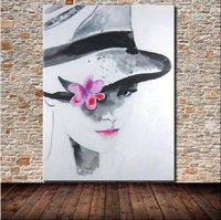 Wholesale Oil Painting Canvas Sex - Frameless Pictures Hand Painted Oil Painting Sex Girl Wall Art On Canvas For Home Decor Pop Art