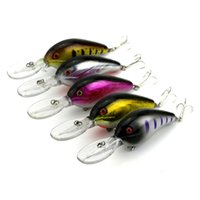 12cm 21.2g Plombs de pêche en plastique Bait Fishing Tackle Hard Bait Minnow Crankbaits 3D Eye Artificial Lure Bait Wholesale 2508062