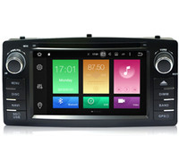 Wholesale android car dvd for toyota corolla for sale - Group buy 6 quot Touch Screen Android System Stereo Car DVD For Toyota E120 BYD F3 GPS Navi RDS WIFI Radio Octa Core G RAM G ROM