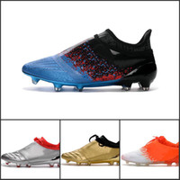 Wholesale Low Price Boot - 2017 Wholesale Price X 16+ Purechaos FG AG Football Shoes Men Soccer Cleats Low Cut Soccer Boots Top Quality Cheap Sneakers Size 39-45