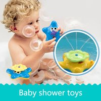 Wholesale Shower Water Jet - Water jet starfish - baby shower toys