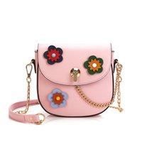 дизайнерские сумочки серый цветок оптовых-Новый дизайнер цветок одно плечо сумка леди мода вечер кошелек женский повседневная популярные сумка черный / зеленый / серый / розовый no270