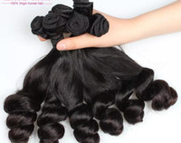 Wholesale Top Hair Factory - Hot Selling Top Quality Brazilian Human Virgin Hair Extensions Fumi Hair wefts Natural Black Color Weaving Hair Factory Price Free Shipping