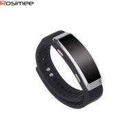 Großhandel Rosimee Sport Armband 8GB Digital Voice Recording Armband Wristband MP3 Player Digital Audio Dictaphone Espia Gravador