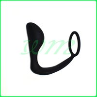 Wholesale Adult Male Anal Hook - Men Climax Fantasy Silicone Male Prostate Massager Cock Ring Anal Sex Toys Butt Plug for Men, Adult Erotic Sex products