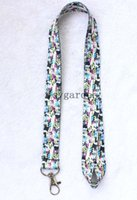 Wholesale M Lanyard - Wholesale lots Camera MP3   4 Lanyard Mobile Phone ID Card KeyChain Holder M-41